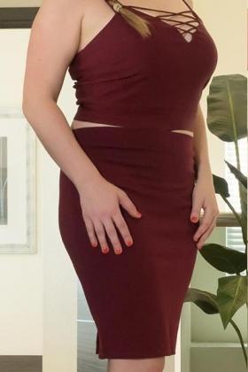 Sexy en stijlvolle dame Vera
